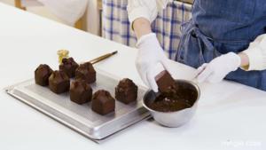초콜릿 로쉐 파운드 케이크 만들기!