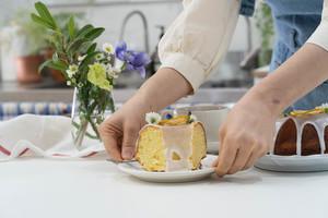 레몬 파운드 케이크 만들기!